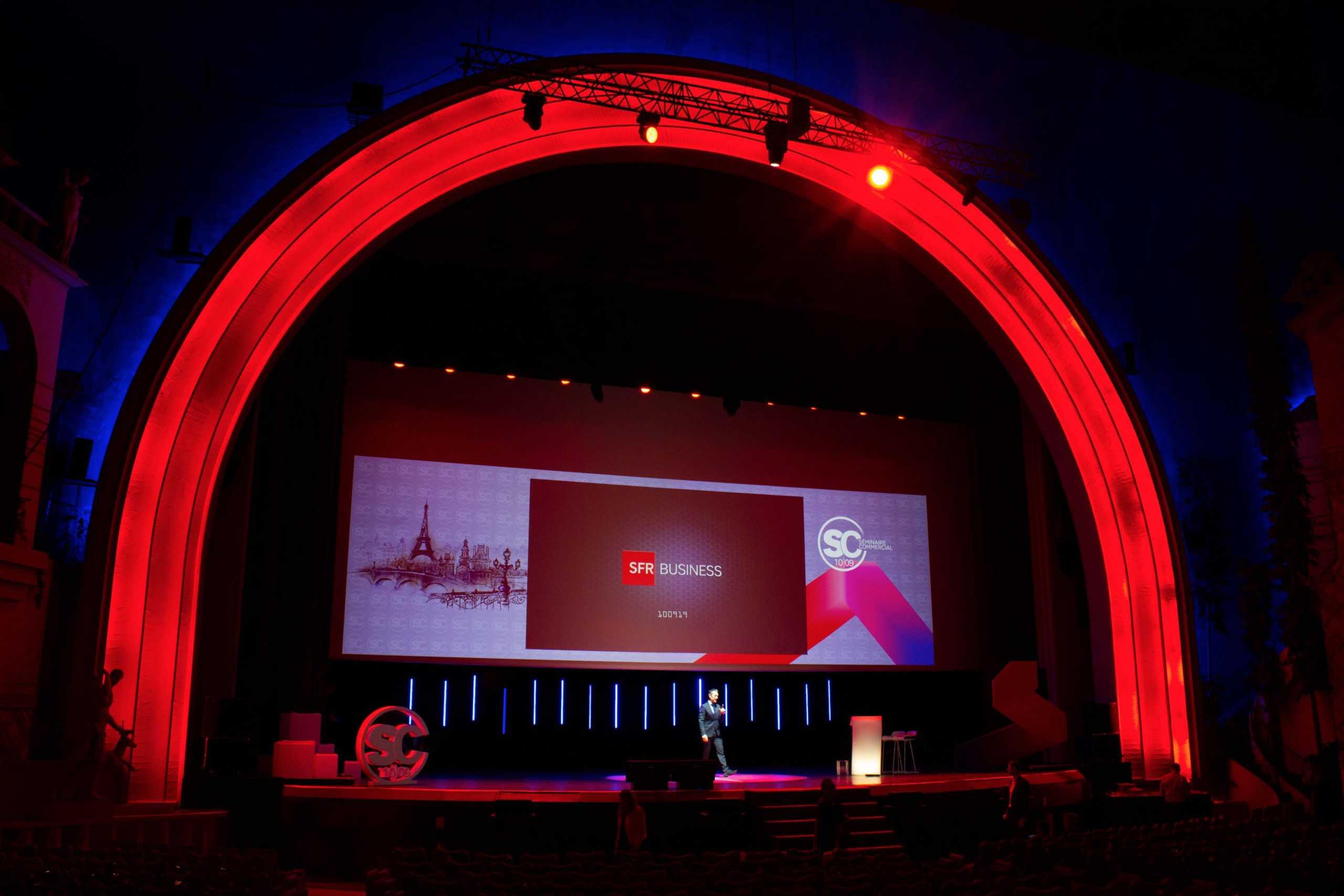 l'effet wahou de la conference professionnelle de Laurent Beretta à Paris au Grand Rex