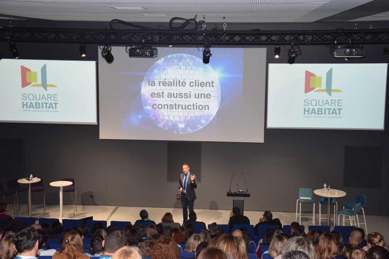 La conférence de Laurent Beretta sur l'expérience client : construire l'effet wahou