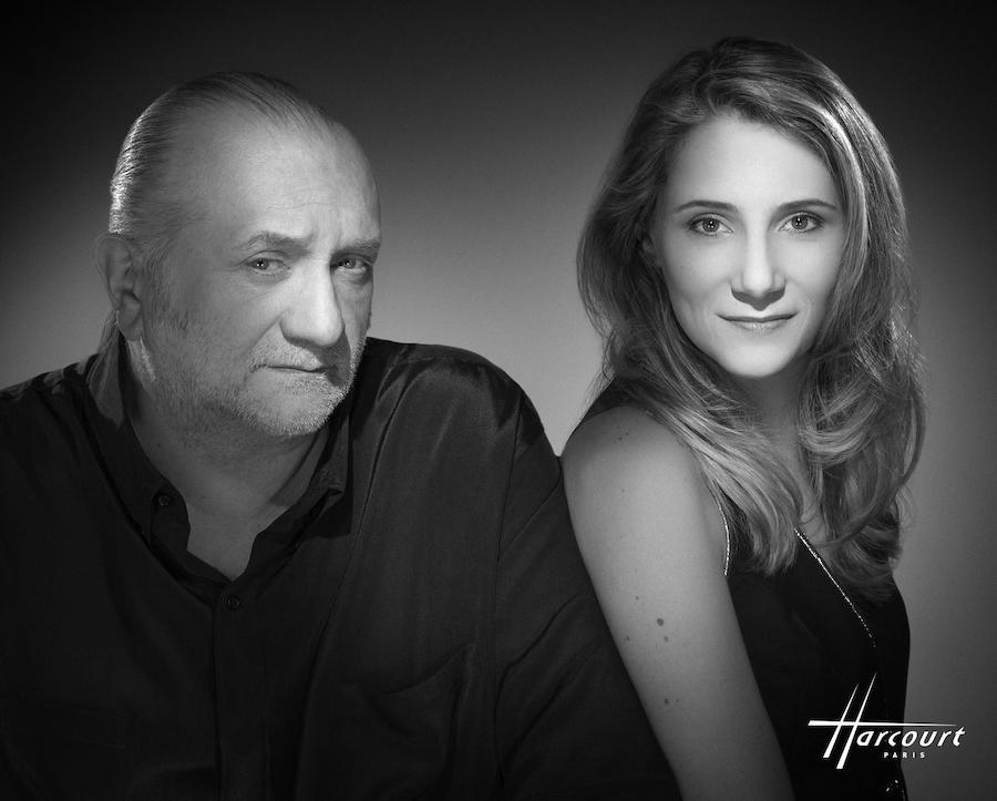 Les illusionnistes mondialement connus, Alexandra et Dominique DUVIVIER, fondateur du Double Fond