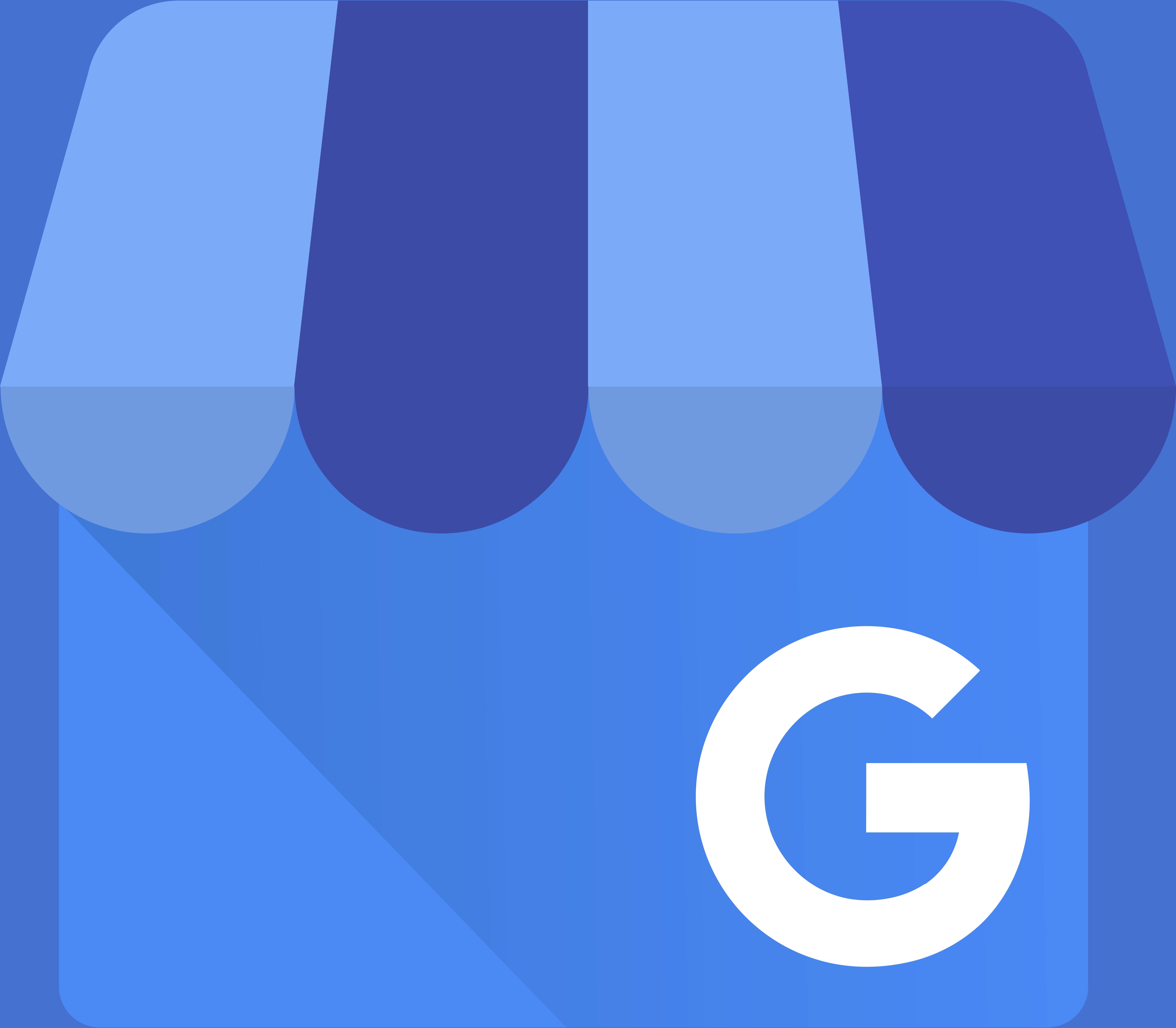 le logo google my business