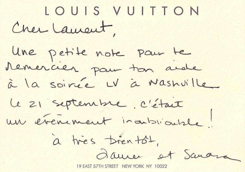 Une recommandation de la maison Louis Vuitton pour un spectacle de magie de luxe par Laurent Beretta