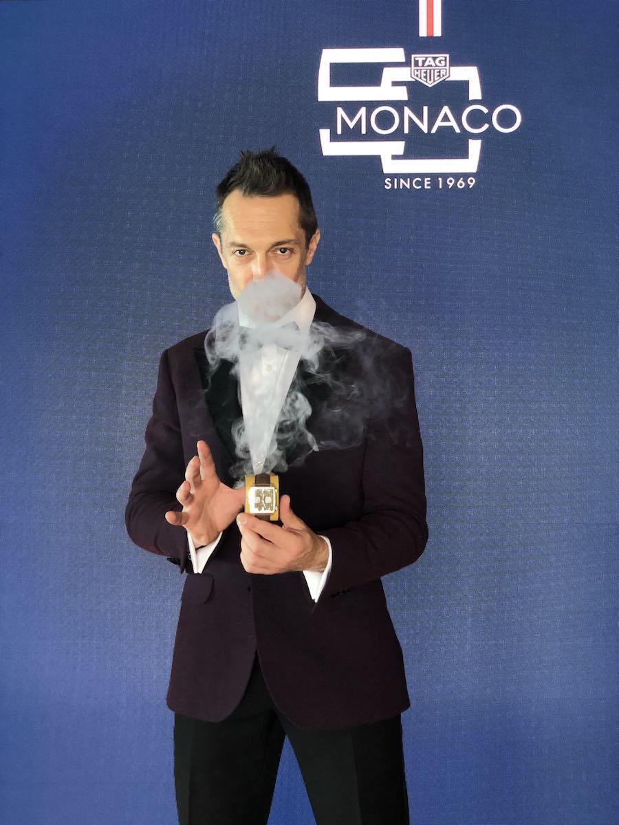 Laurent Beretta magicien mentaliste travaille dans le milieu du luxe à Paris et Monaco